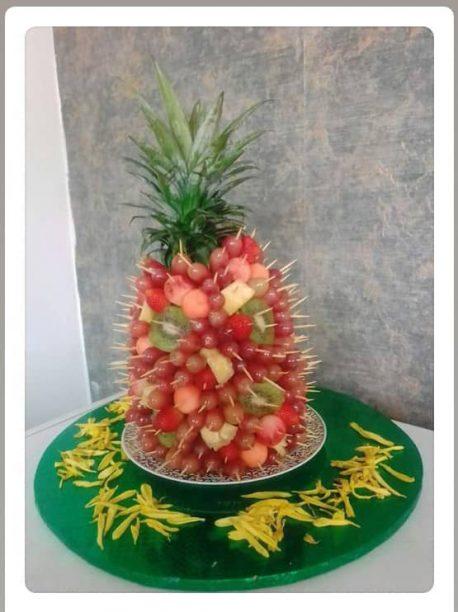 fruitsome fruit arrangement