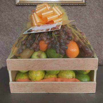 Fruitsome 2-slate fruit crate