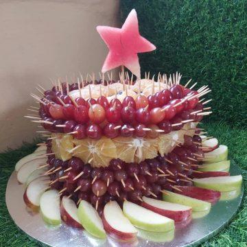 Fruitsome Circular fruit cake