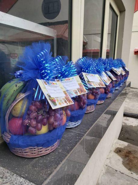 Fruitsome nude Mini Fruit baskets